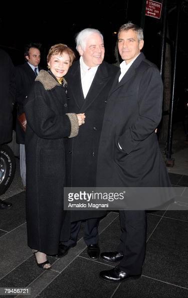 Nick Clooney Nina Warren Stock Phot...