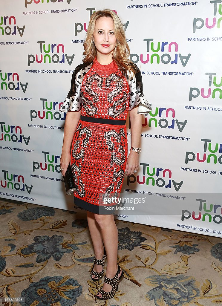 Nina Davidson attends Turnaround for Children 4th Annual Impact Awards Gala at The Plaza Hotel on April 30, 2013 in New York City.