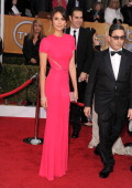 Nina Dobrev arrives at the 19th Annual Screen Actors Guild Awards at The Shrine Auditorium on January 27 2013 in Los Angeles California