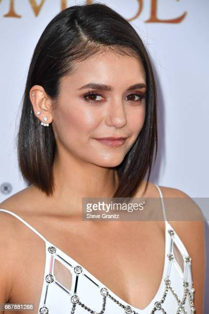 Nina Dobrev arrives at the Premiere Of Open Road Films' 'The Promise' at TCL Chinese Theatre on April 12 2017 in Hollywood California