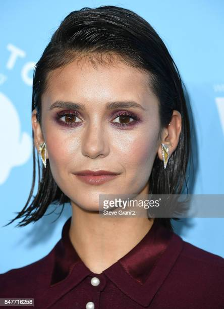 Nina Dobrev arrives at the Variety And Women In Film's 2017 PreEmmy Celebration at Gracias Madre on September 15 2017 in West Hollywood California