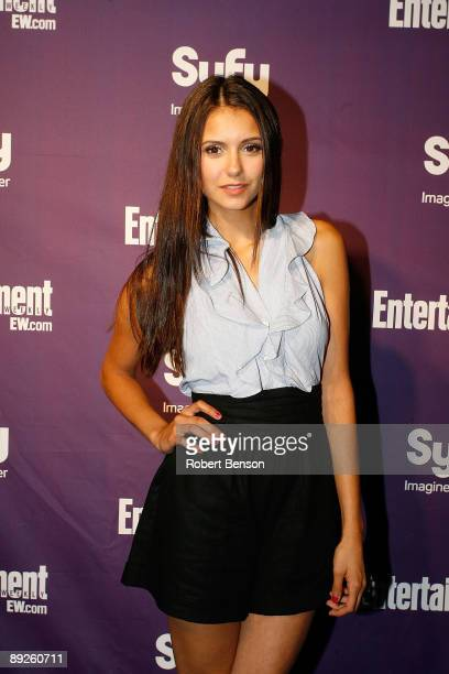 Nina Dobrev at the Entertainment Weekly and Syfy invade ComicCon party at Hotel Solamar on July 25 2009 in San Diego California