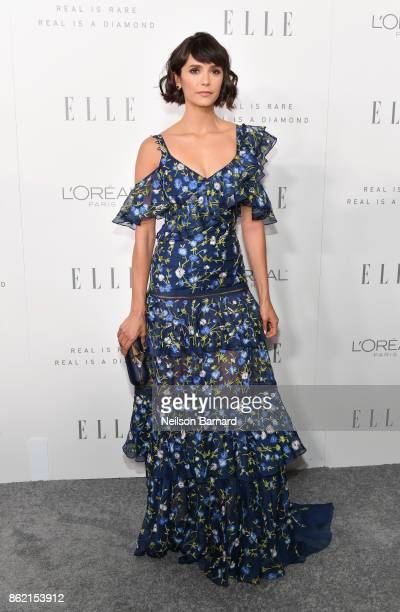 Nina Dobrev attends ELLE's 24th Annual Women in Hollywood Celebration presented by L'Oreal Paris Real Is Rare Real Is A Diamond and CALVIN KLEIN at...