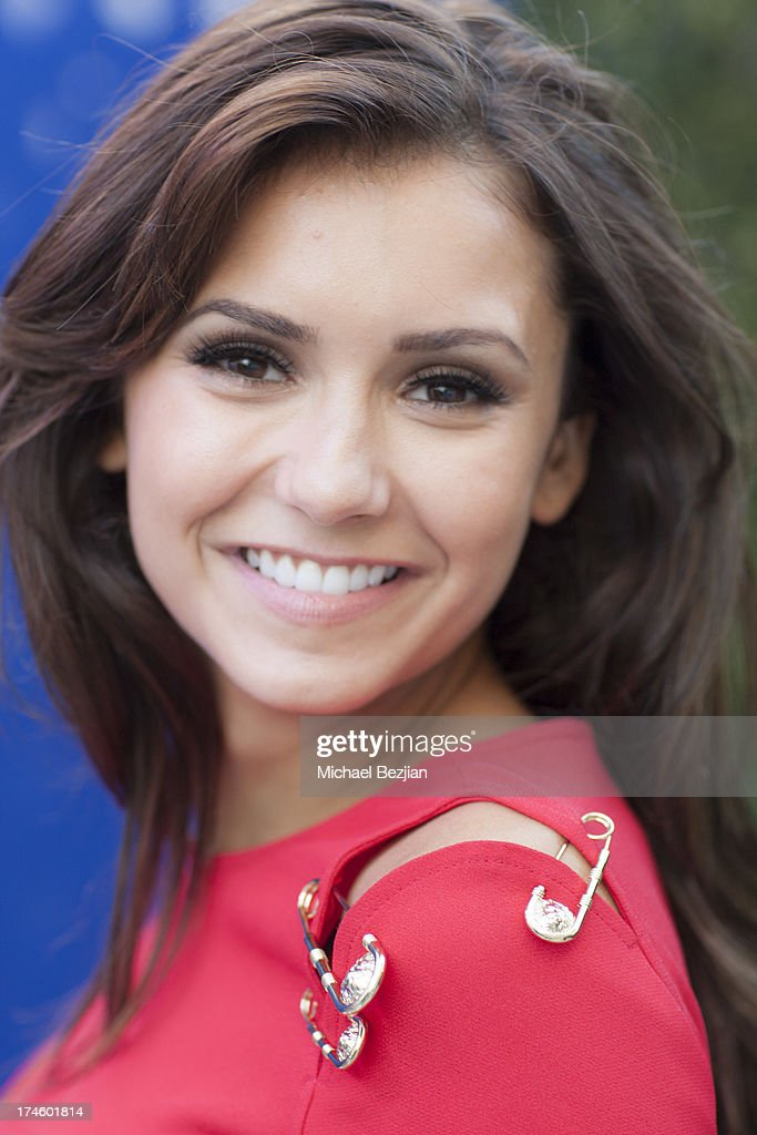 <a gi-track='captionPersonalityLinkClicked' href=/galleries/search?phrase=Nina+Dobrev&family=editorial&specificpeople=4397485 ng-click='$event.stopPropagation()'>Nina Dobrev</a> attends Flips Audio At Variety Power of Youth at Universal Studios Backlot on July 27, 2013 in Universal City, California.