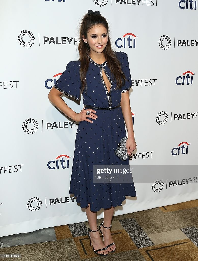 Nina Dobrev attends the 2014 PaleyFest - 'The Vampire Diaries' & 'The Originals' held at Dolby Theatre on March 21, 2014 in Hollywood, California.