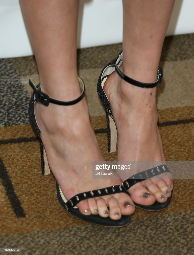 Nina Dobrev (shoe detail) attends the 2014 PaleyFest - 'The Vampire Diaries' & 'The Originals' held at Dolby Theatre on March 21, 2014 in Hollywood, California.