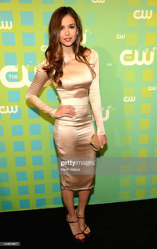 <a gi-track='captionPersonalityLinkClicked' href=/galleries/search?phrase=Nina+Dobrev&family=editorial&specificpeople=4397485 ng-click='$event.stopPropagation()'>Nina Dobrev</a> attends the CW Network's 2012 Upfront at The London Hotel on May 17, 2012 in New York City.