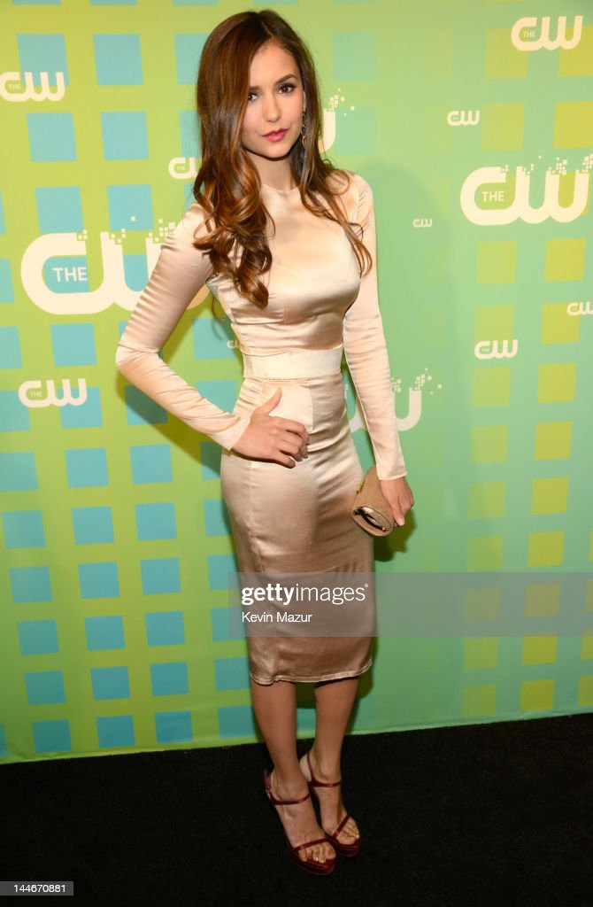 Nina Dobrev attends the CW Network's 2012 Upfront at The London Hotel on May 17, 2012 in New York City.