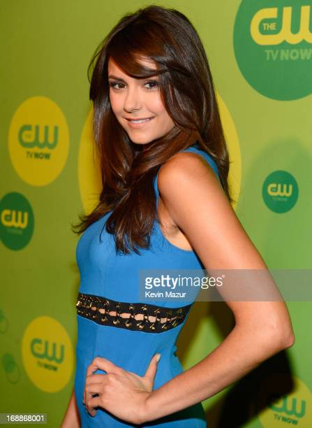 Nina Dobrev attends the CW Network's 2013 Upfront at The London Hotel on May 16 2013 in New York City