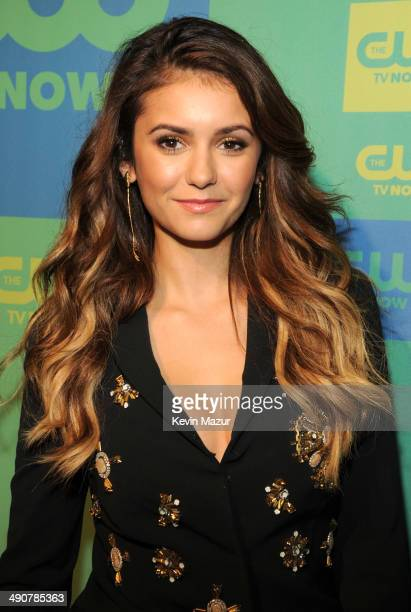 Nina Dobrev attends The CW Network's 2014 Upfront at The London Hotel on May 15 2014 in New York City
