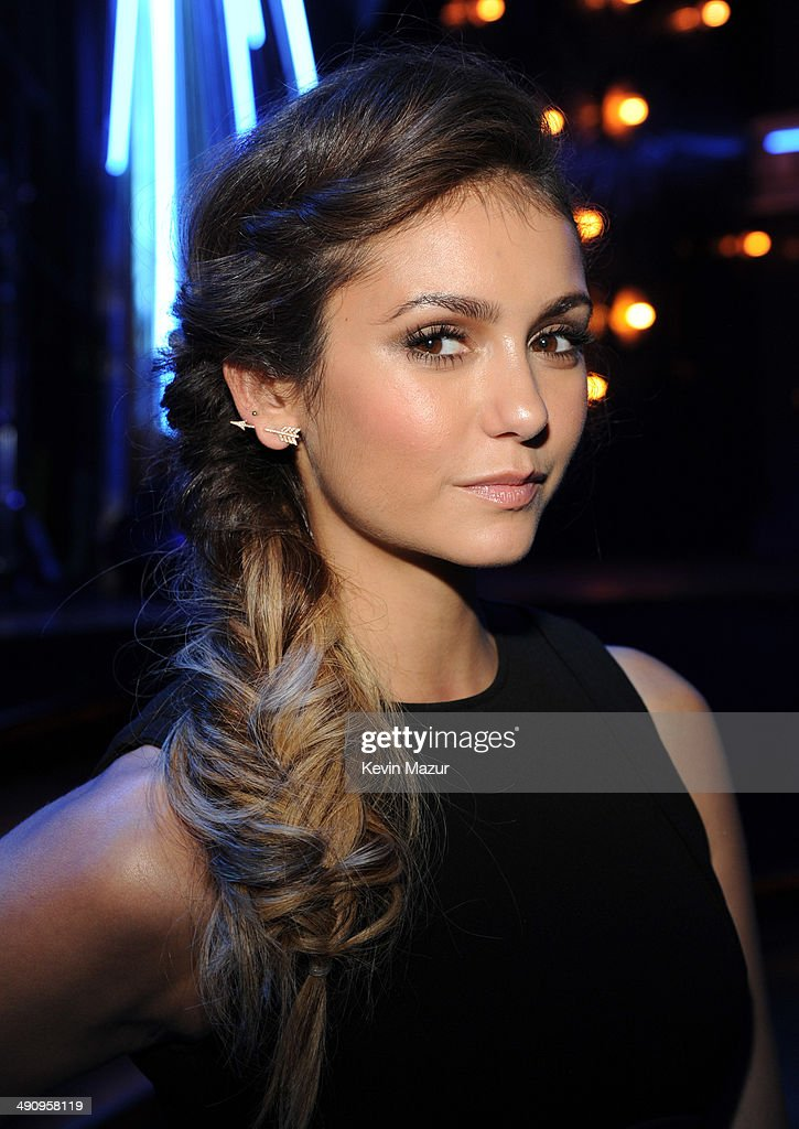 <a gi-track='captionPersonalityLinkClicked' href=/galleries/search?phrase=Nina+Dobrev&family=editorial&specificpeople=4397485 ng-click='$event.stopPropagation()'>Nina Dobrev</a> attends The CW Network's 2014 Upfront party at Paramount Hotel on May 15, 2014 in New York City.