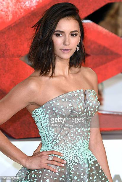 Nina Dobrev attends the European premiere of 'xXx' Return of Xander Cage' on January 10 2017 in London United Kingdom