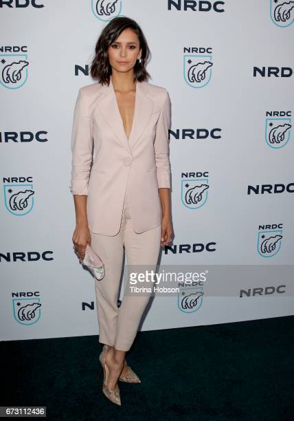 Nina Dobrev attends the Natural Resources Defense Council's STAND UP event at Wallis Annenberg Center for the Performing Arts on April 25 2017 in...
