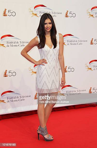 Nina Dobrev attends the opening night of the 2010 Monte Carlo Television Festival held at the Grimaldi Forum on June 6 2010 in MonteCarlo Monaco