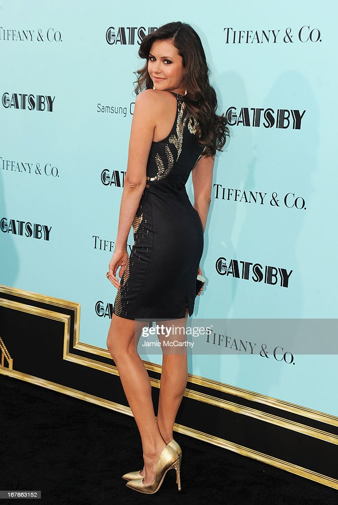 Nina Dobrev attends the 'The Great Gatsby' world premiere at Avery Fisher Hall at Lincoln Center for the Performing Arts on May 1, 2013 in New York City.