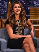 Nina Dobrev Visits 'The Tonight Show Starring Jimmy Fallon' at Rockefeller Center on August 5 2014 in New York City