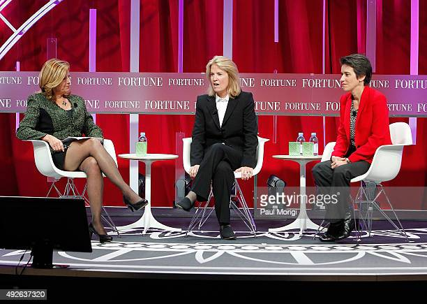 Nina Easton of Fortune Greta Van Susteren Host On the Record with Greta Van Susteren Fox News and Amy Walter National Editor The Cook Political...
