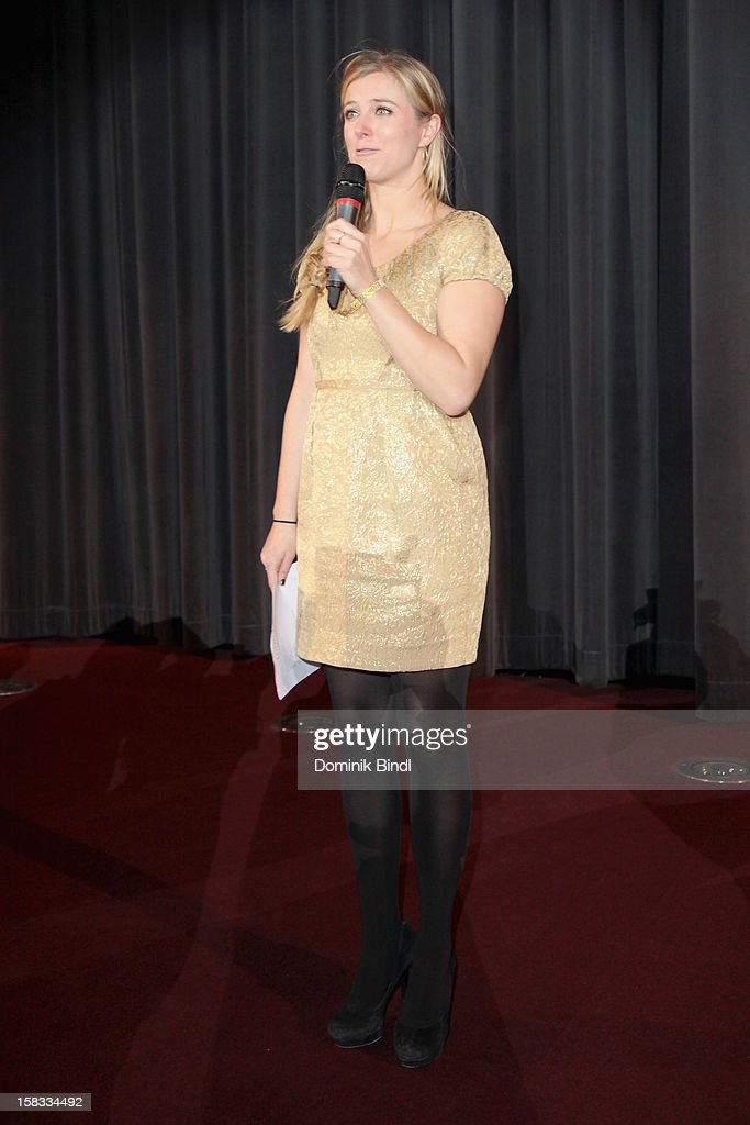 Nina Eichinger attends Ludwig II - Germany Premiere at Mathaeser Filmpalast on December 13, 2012 in Munich, Germany.