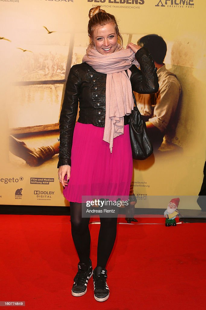 Nina Eichinger attends 'Quelle des Lebens' Germany Premiere at Delphi Filmpalast on February 5, 2013 in Berlin, Germany.