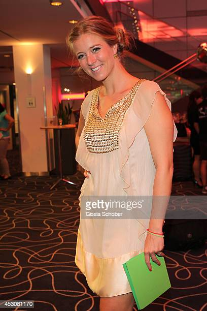 Nina Eichinger attends the Artists For Kids 15th anniversary celebration at Hilton Munich Park Hotel on August 02 2014 in Munich Germany