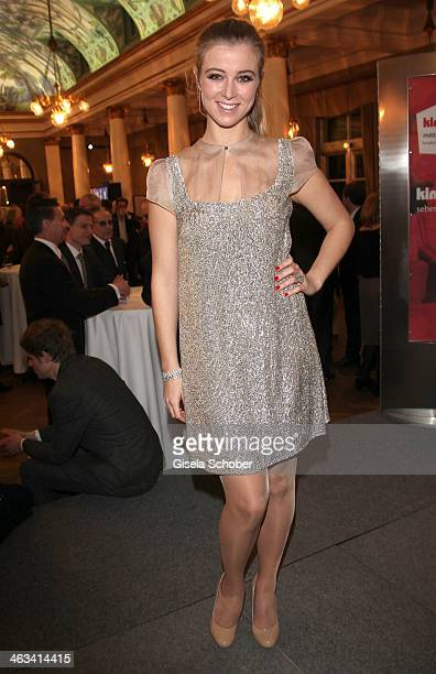 Nina Eichinger attends the Bavarian Film Award 2014 at Prinzregententheater on January 17 2014 in Munich Germany