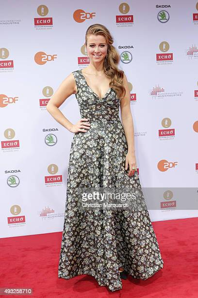 Nina Eichinger attends the ECHO Klassik 2015 at Konzerthaus on October 18 2015 in Berlin Germany
