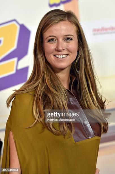 Nina Eichinger attends the 'Fack ju Goehte 2' Munich Premiere at Mathaeser Filmpalast on September 7 2015 in Munich Germany
