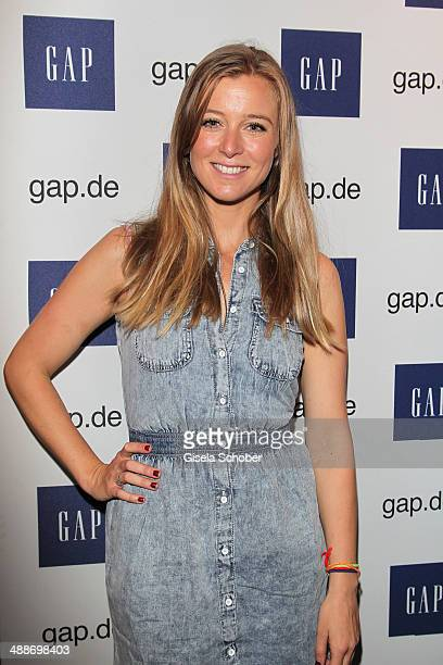 Nina Eichinger attends the GAP PopUp Shop Opening on May 7 2014 in Munich Germany