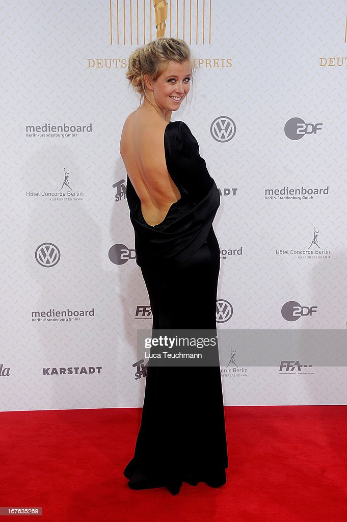 Nina Eichinger attends the Lola German Film Award 2013 at Friedrichstadtpalast on April 26, 2013 in Berlin, Germany.