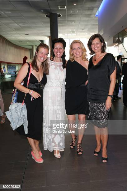 Nina Eichinger Bettina Reitz Dr Maria Furtwaengler and Ilse Aigner during the opening night of the Munich Film Festival 2017 at Mathaeser Filmpalast...