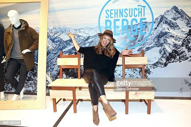 Nina Eichinger during the KONEN fall/winter season opening on August 31 2016 in Munich Germany