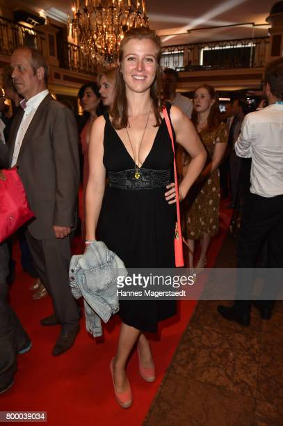 Nina Eichinger during the opening night of the Munich Film Festival 2017 at Bayerischer Hof on June 22 2017 in Munich Germany
