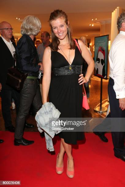Nina Eichinger during the opening night party of the Munich Film Festival 2017 at Hotel Bayerischer Hof on June 22 2017 in Munich Germany