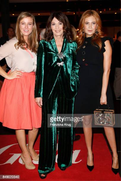 Nina Eichinger Iris Berben and Palina Rojinski attend the First Steps Award 2017 at Hotel Zoo on September 18 2016 in Berlin Germany