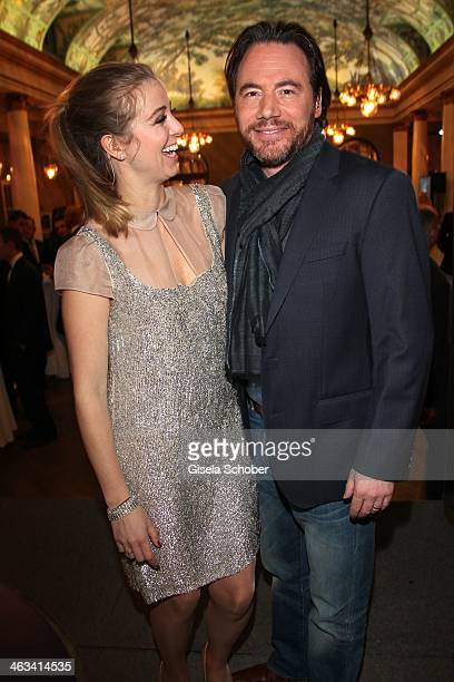 Nina Eichinger Michael 'Bully' Herbig attend the Bavarian Film Award 2014 at Prinzregententheater on January 17 2014 in Munich Germany