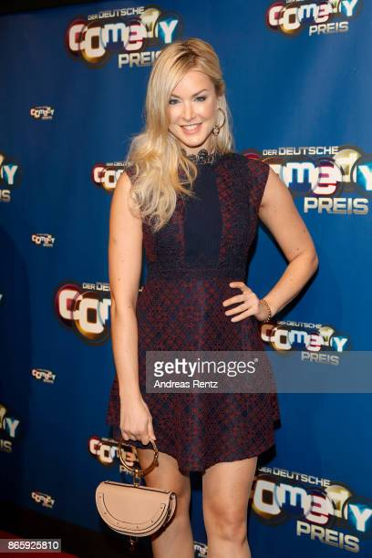 Nina Ensmann attends the 21st Annual German Comedy Awards at Studio in Koeln Muehlheim on October 24 2017 in Cologne Germany