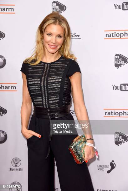 Nina Friederike Gnaedig attends the 99FireFilmsAward at Admiralspalast on February 16 2017 in Berlin Germany