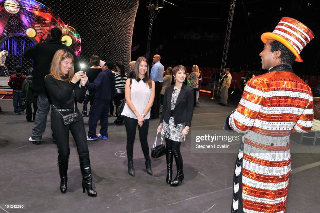 <a gi-track='captionPersonalityLinkClicked' href=/galleries/search?phrase=Nina+Garcia&family=editorial&specificpeople=592222 ng-click='$event.stopPropagation()'>Nina Garcia</a>, Alana Feld, Nicole Feld and Andre McClain attend Ringling Bros. And Barnum & Bailey Present Built To Amaze! on March 21, 2013 in New York City.