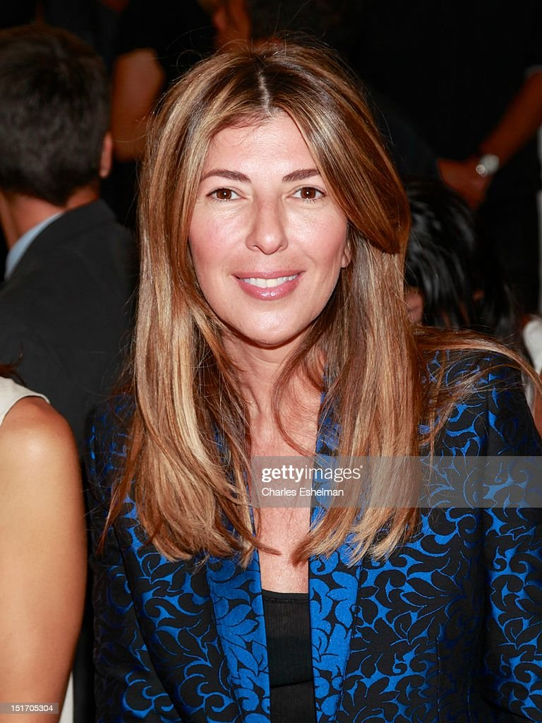 <a gi-track='captionPersonalityLinkClicked' href=/galleries/search?phrase=Nina+Garcia&family=editorial&specificpeople=592222 ng-click='$event.stopPropagation()'>Nina Garcia</a> attends Belstaff Spring 2013 at the IAC Headquarters on September 10, 2012 in New York City.