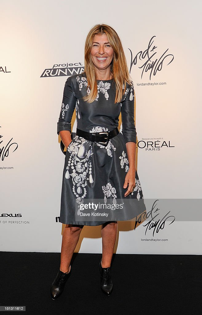 Nina Garcia attends the Project Runway Season 10 'Wrap Party' hosted by Lord & Taylor and sponsored by HP/Intel, Brother, L'Oreal, Marie Claire and Lexus at Lord & Taylor on September 5, 2012 in New York City.