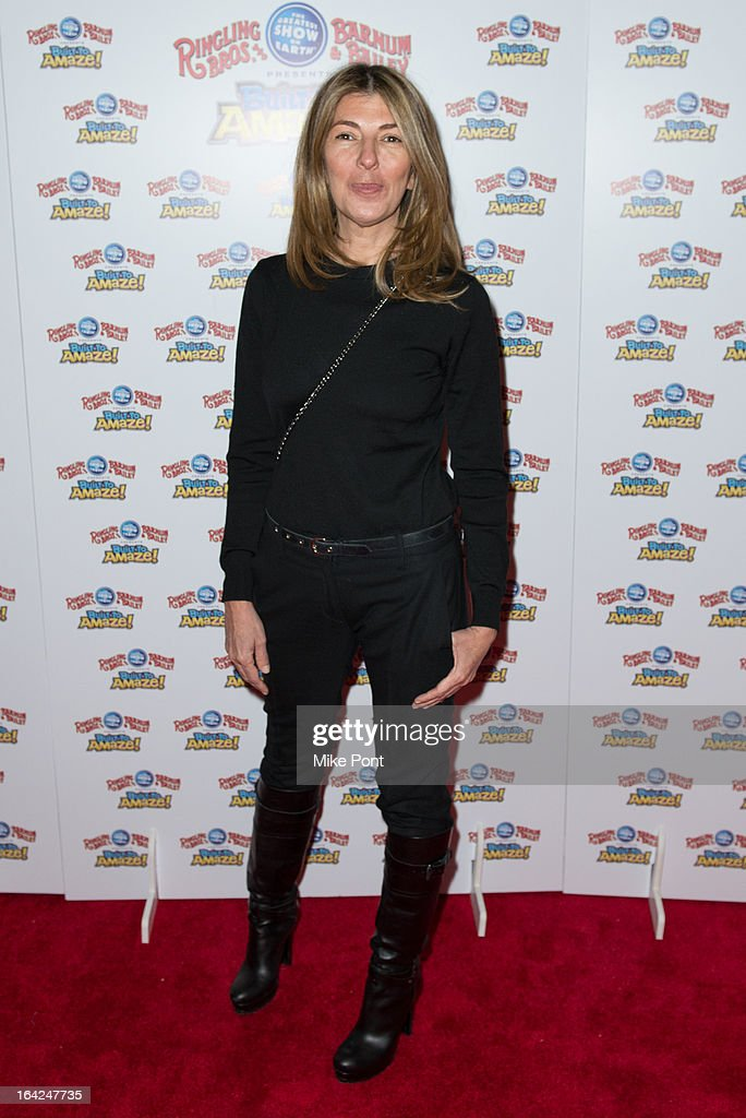 Nina Garcia attends the Ringling Bros. and Barnum & Bailey 'Build To Amaze!' Opening Night at Barclays Center on March 21, 2013 in the Brooklyn borough of New York City.