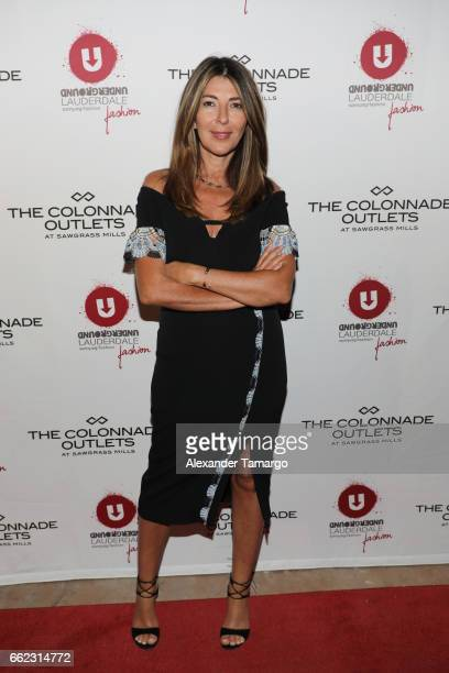 Nina Garcia Hosts The Nicole Miller 2017 Spring Collection At The Underground Lauderdale Fashion Weekend Brought To You By The Greater Fort...