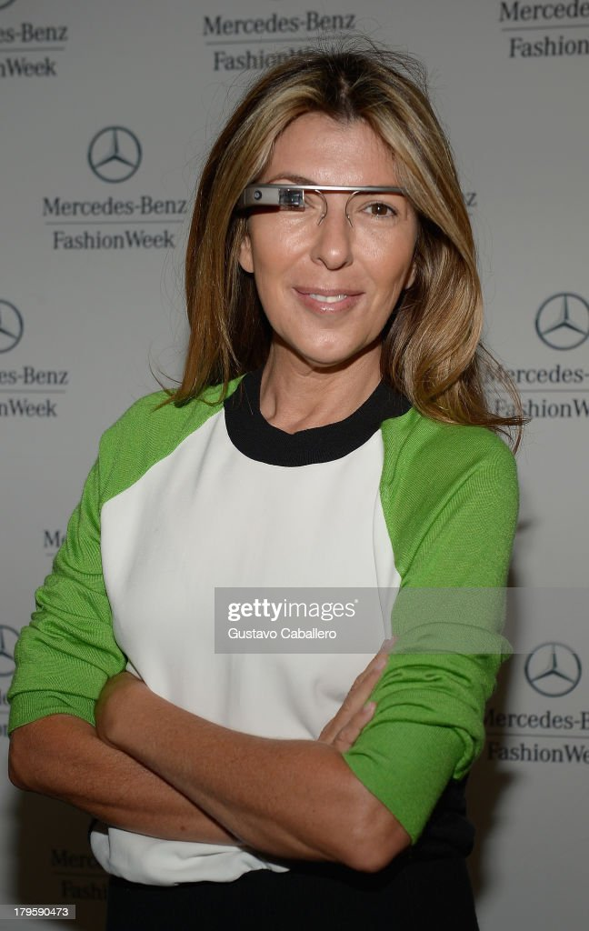 <a gi-track='captionPersonalityLinkClicked' href=/galleries/search?phrase=Nina+Garcia&family=editorial&specificpeople=592222 ng-click='$event.stopPropagation()'>Nina Garcia</a> is seen around Lincoln Center - Day 1 - Mercedes-Benz Fashion Week Spring 2014 at Lincoln Center for the Performing Arts on September 5, 2013 in New York City.