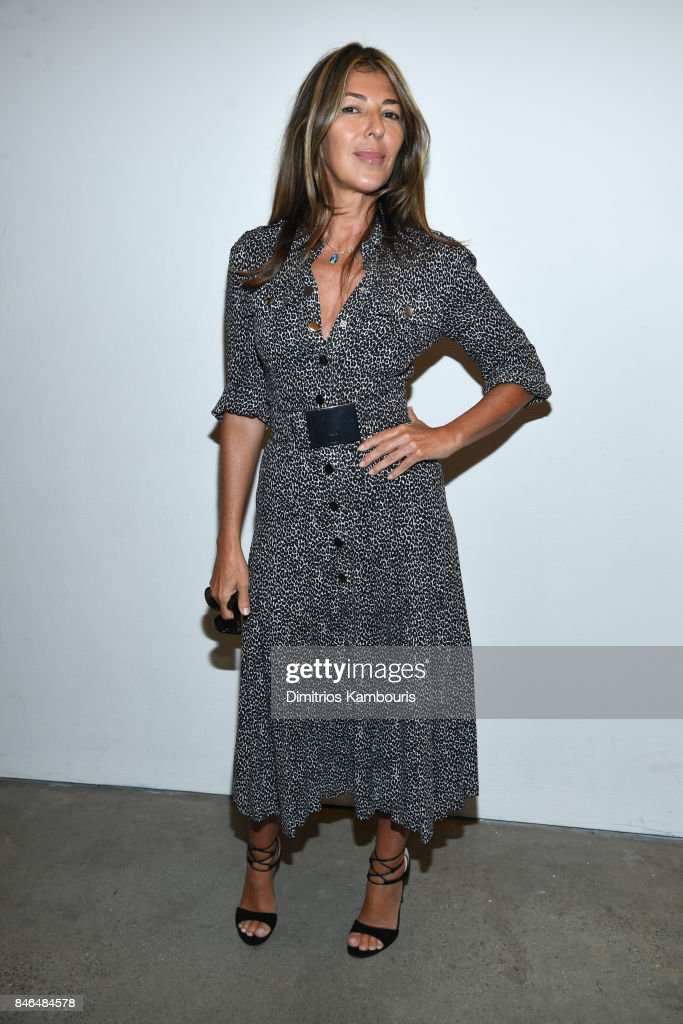 Nina Garcia poses backstage at Michael Kors Collection Spring 2018 Runway Show at Spring Studios on September 13, 2017 in New York City.