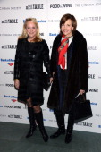 Nina Griscom and Frances Schultz attend a screening of 'A Place At The Table' presented by Magnolia Pictures and Participant Media with The Cinema...
