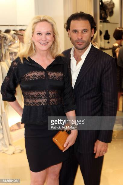 Nina Griscom and Leonel Piraino attend Book Party for THE SUMMER WE READ GATSBY by Danielle Ganek at Dennis Basso on June 2 2010 in New York City