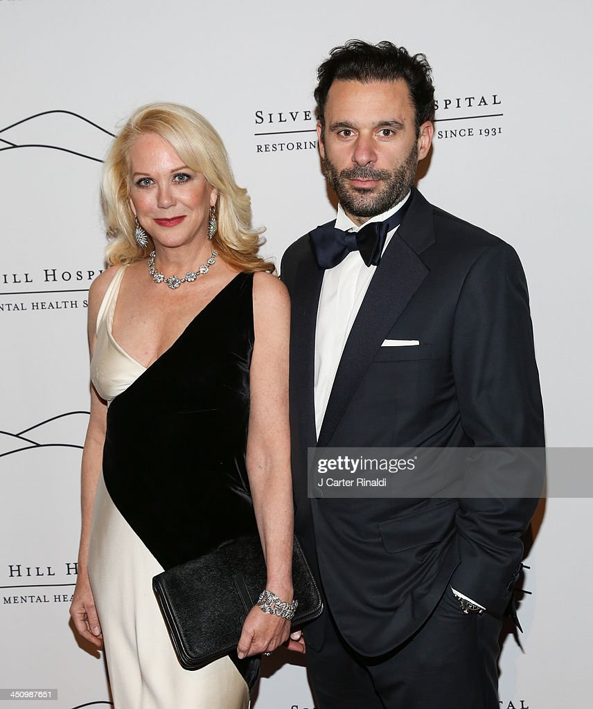 Nina Griscom and Leonel Piraino attend the 2013 Silver Hospital gala at Cipriani 42nd Street on November 20, 2013 in New York City.