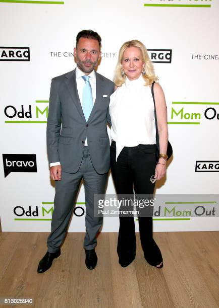 Nina Griscom attend The Cinema Society Kargo host the Season 3 Premiere of Bravo's 'Odd Mom Out' on July 11 2017 in New York City