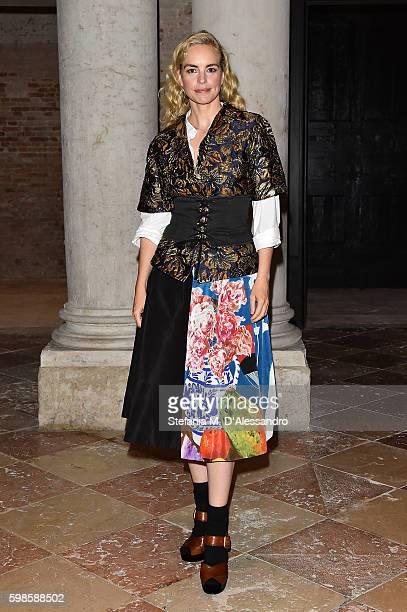 Nina Hoss attends Miu Miu Women's Tales Dinner during the 73rd Venice Film Festival at Ca' Corner della Regina on September 1 2016 in Venice Italy