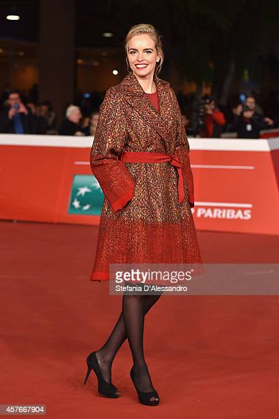 Nina Hoss attends the 'Phoenix' Red Carpet during the 9th Rome Film Festival on October 22 2014 in Rome Italy